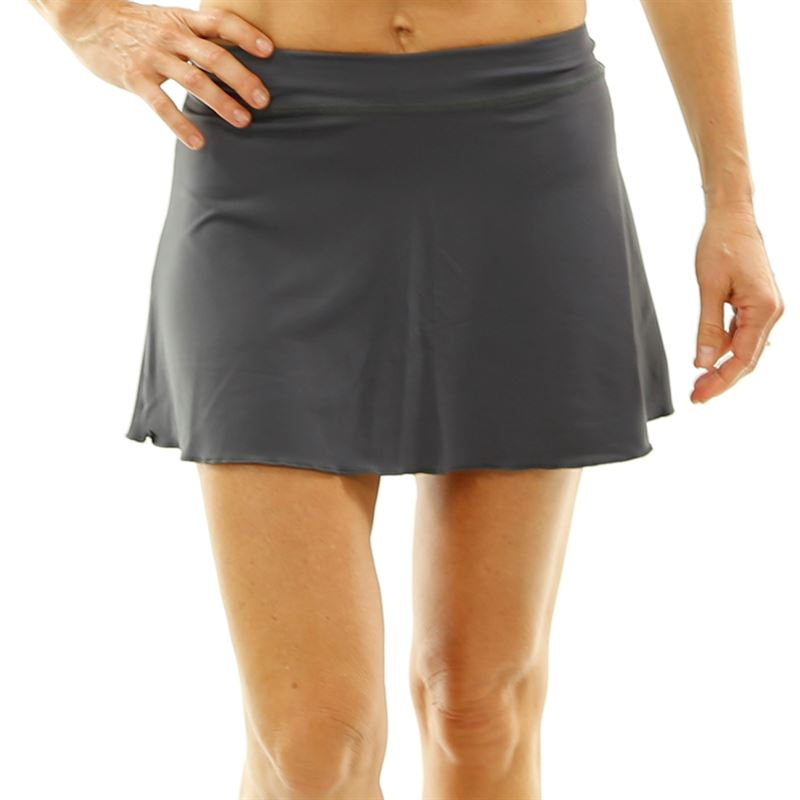 d7ef3d976e Sofibella Plus Size 13 Inch Skirt, Grey, 7008 GRYP | Sofibella ...
