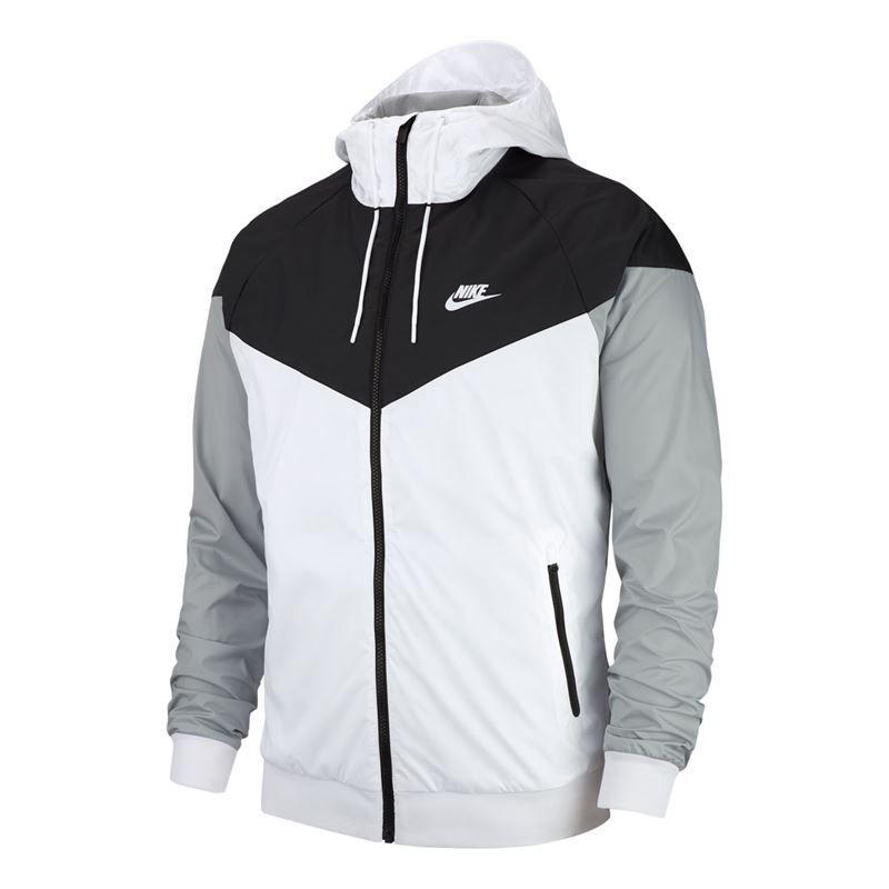 a2797dfc7af Nike Sportswear Windrunner Jacket - White/Black. Zoom