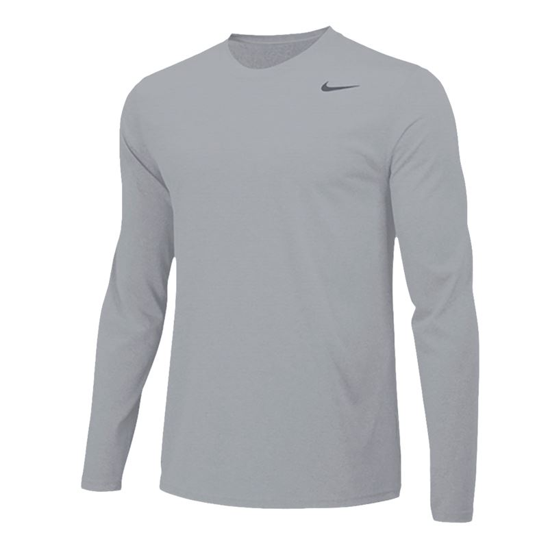 a1da0f73c173 Nike Team Legend Long Sleeve - Carbon Heather Black. Zoom