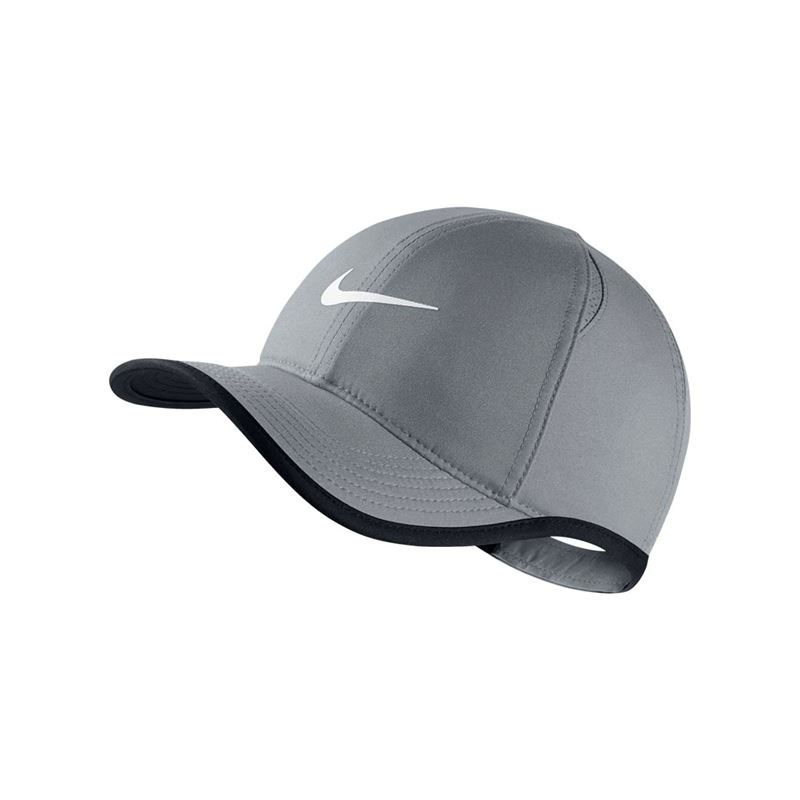 Nike Kids Featherlight Hat - Cool Grey. Zoom bd594ca2ef73