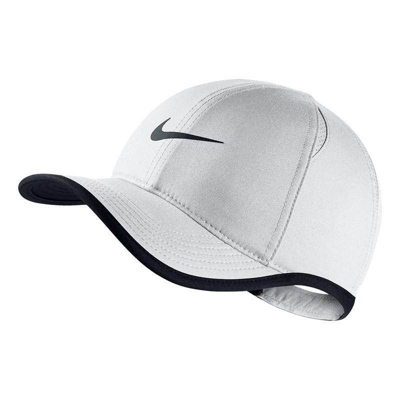 Nike Kids Featherlight Hat White 739376 100