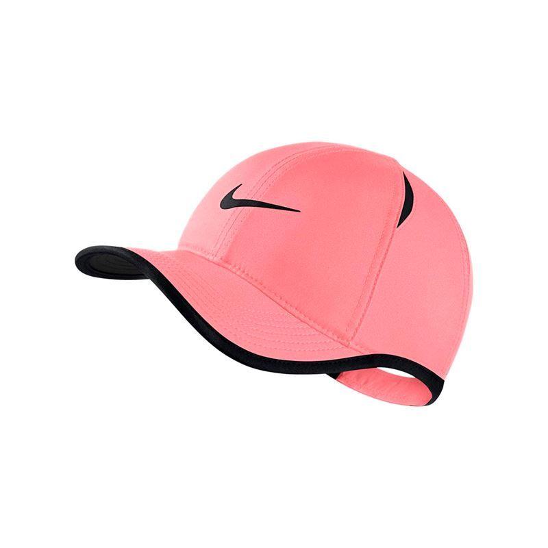 online store 96a96 8af5a Nike Kids Aerobill Featherlight Hat - Pink Gaze Black. Zoom