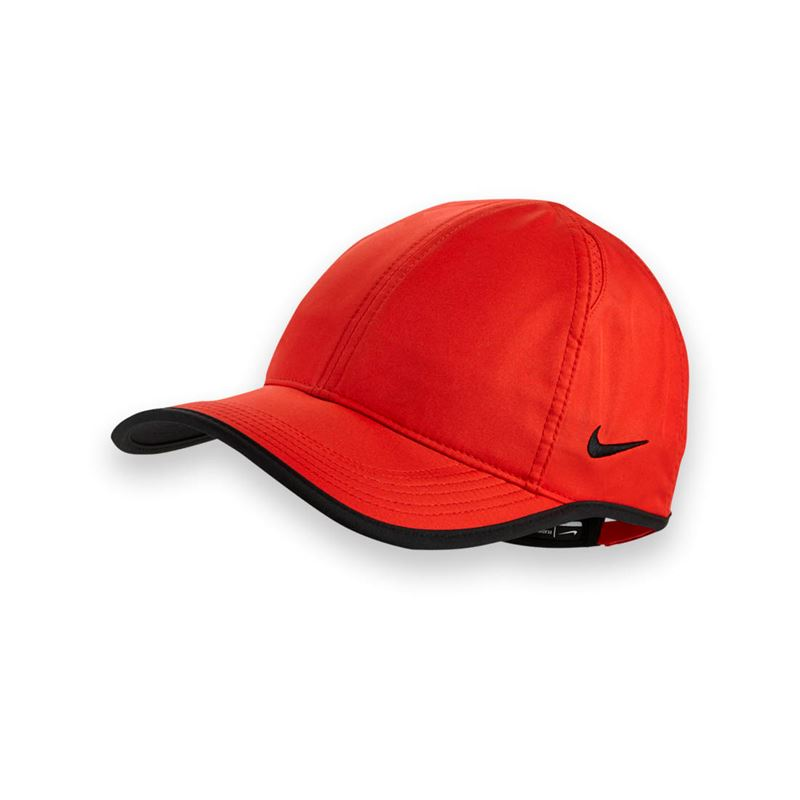 7829e0d58877e9 Nike Team Featherlight Red Hat   Midwest Sports