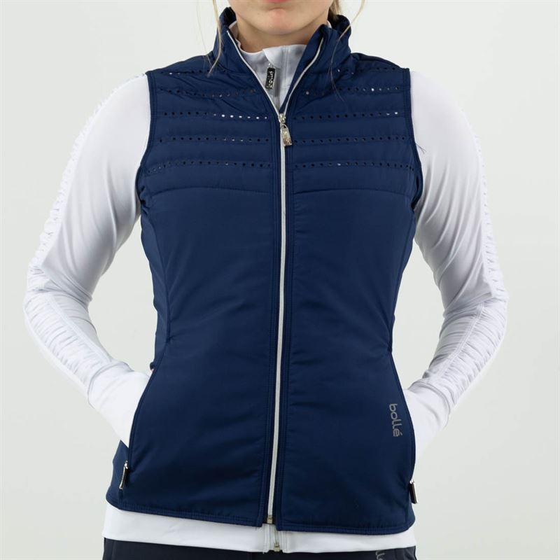 Boll/é Womens Essential Quilted Zip Front Vest