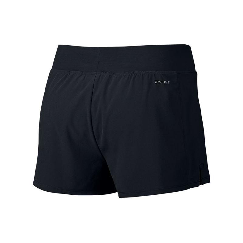 nike - flex puro breve, 830626 010 tennis femminile dell'abbigliamento