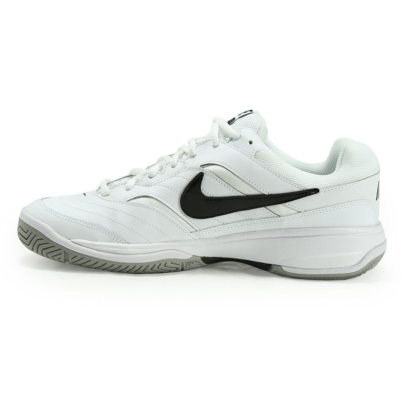 Nike Performance COURT LITE - Outdoor tennis shoes - white/black/medium grey
