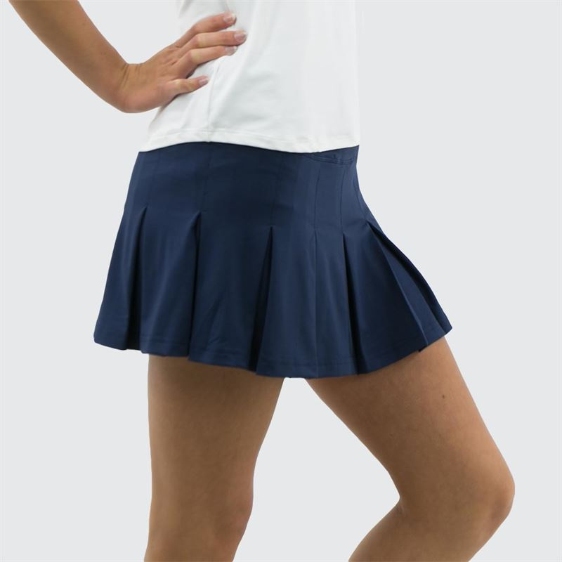 92d08f3054 Bolle Pleated Skirt - navy | Women's Tennis Apparel |Midwest Tennis