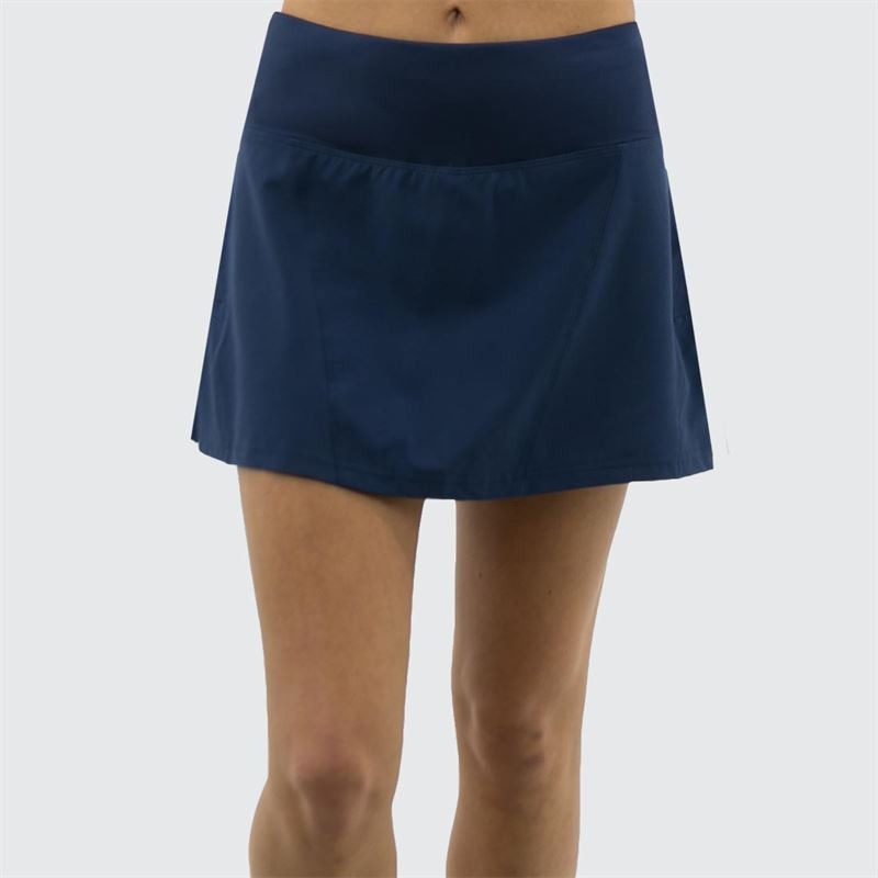 Boll/é Checkmate Asymmetrical Layered Tennis Skirt with Shorts