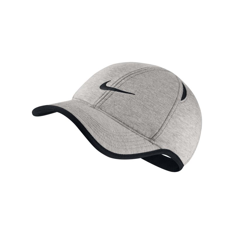 Nike Aerobill Featherlight Hat - Grey Heather Black. Zoom 30110ab6a9f3