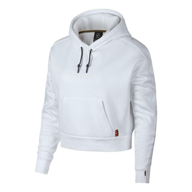 3f9430e522e3 Nike Court Hoodie - White Gridiron. Zoom