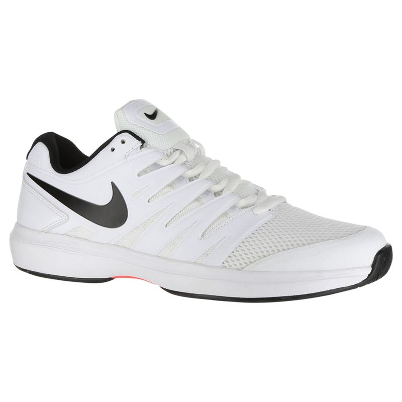 Nike Air Zoom Prestige Mens Tennis Shoes (White Black)   Direct Tennis