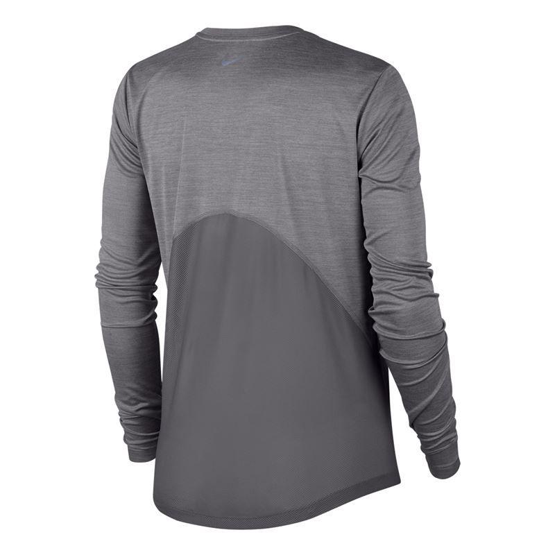 0d32e847 ... Gunsmoke Heather/Reflective Silver. Zoom · Nike Miler Long Sleeve Top