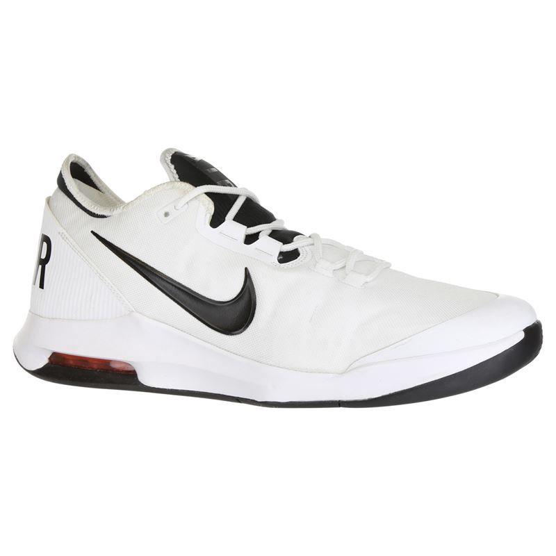 promo code 95971 97dbd Nike Air Max Wildcard Mens Tennis Shoe - White Black Bright Crimson. Zoom