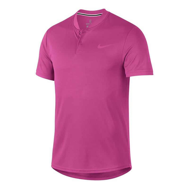 Nike Court Dry Blade Polo - Active Fuchsia. Zoom 13722ee21