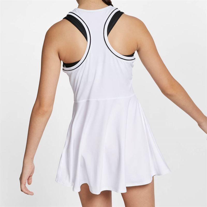 fef8bc0f2 Nike Girls Court Dry Dress, AR2502 100 | Girls' Tennis Apparel