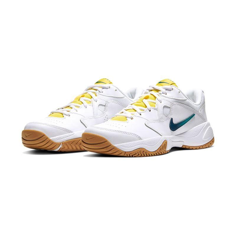 Nike Court Lite 2 Womens White Valerian Blue Oracle Aqua Midwest Sports