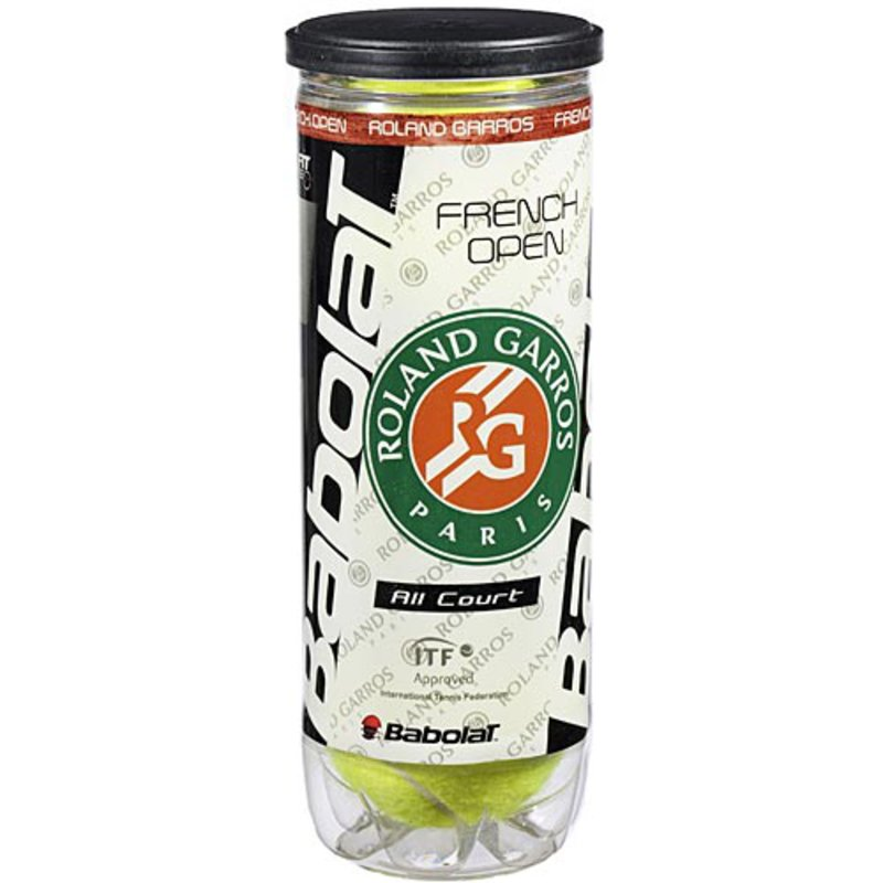 Babolat French Open All Court Tennis Balls Can