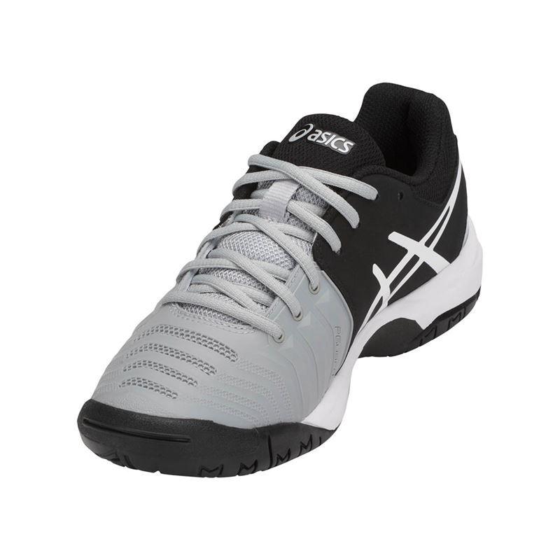 96c23fea4 Asics Gel Resolution 7 GS Junior Tennis Shoe, Mid Grey, C700Y 9690