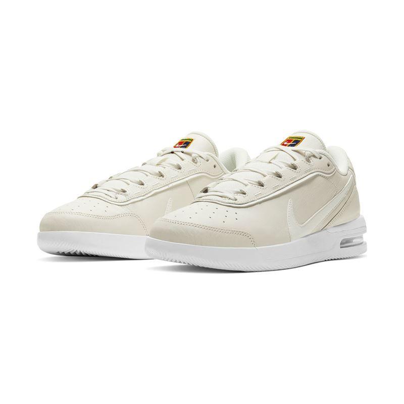 Nike Court Air Max Vapor Wing Rafa Premium Mens Tennis Shoe - Sail/Argon  Blue/White
