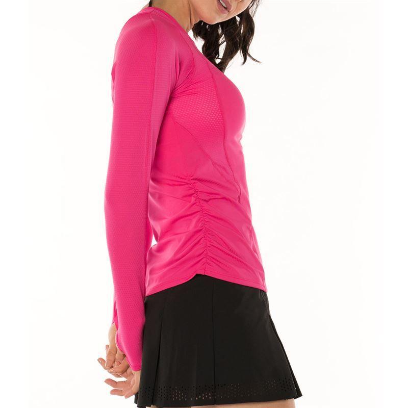 0fab7e96b782 Lucky in Love Core Sleeve, CT460 645 | Women's Tennis Apparel