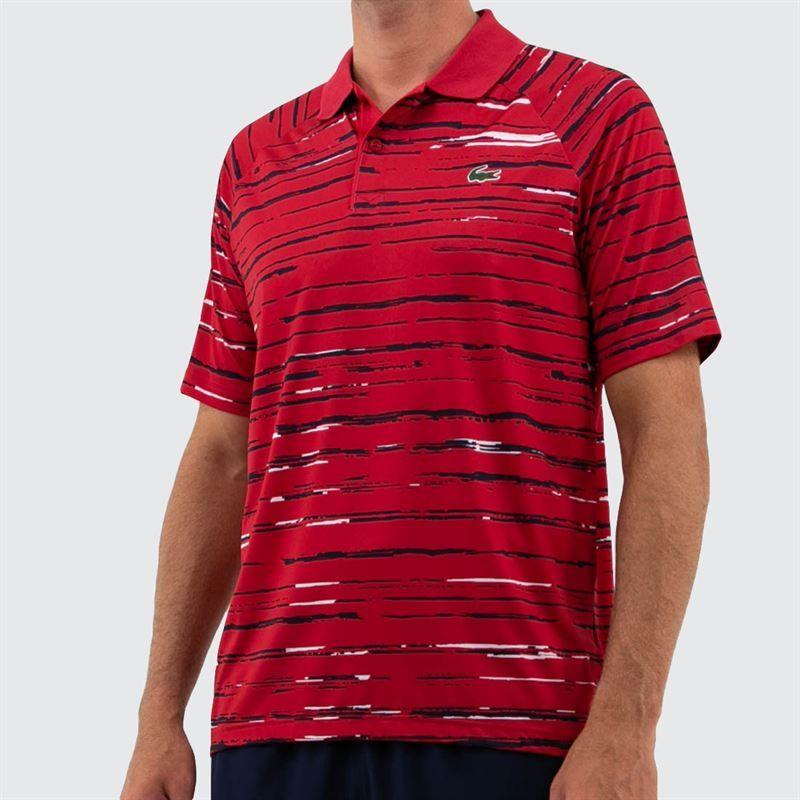 952f5e33 Lacoste Novak Raglan Polo