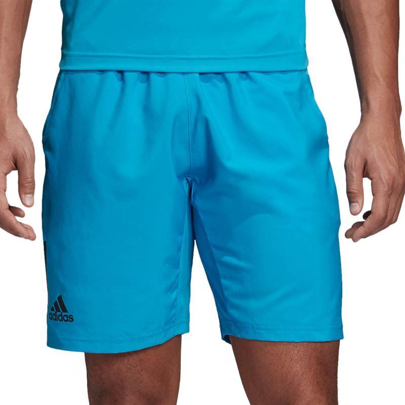 787e1674169 adidas Club 3 Stripe Short 9 inch, DU0876   Men's Tennis Apparel