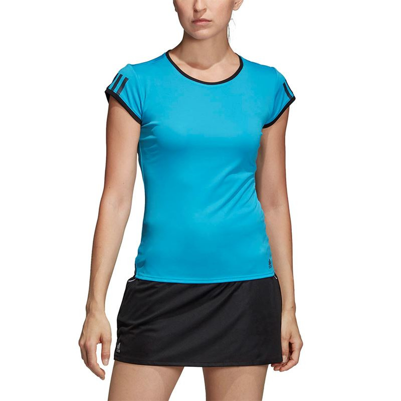 ec32389317 adidas Club 3 Stripe Tee, DP0959 | Women's Tennis Apparel