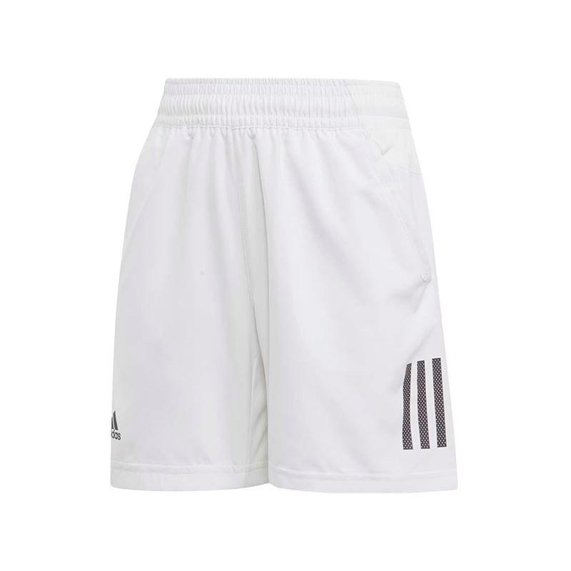 adidas Boys Club 3 Stripe Short