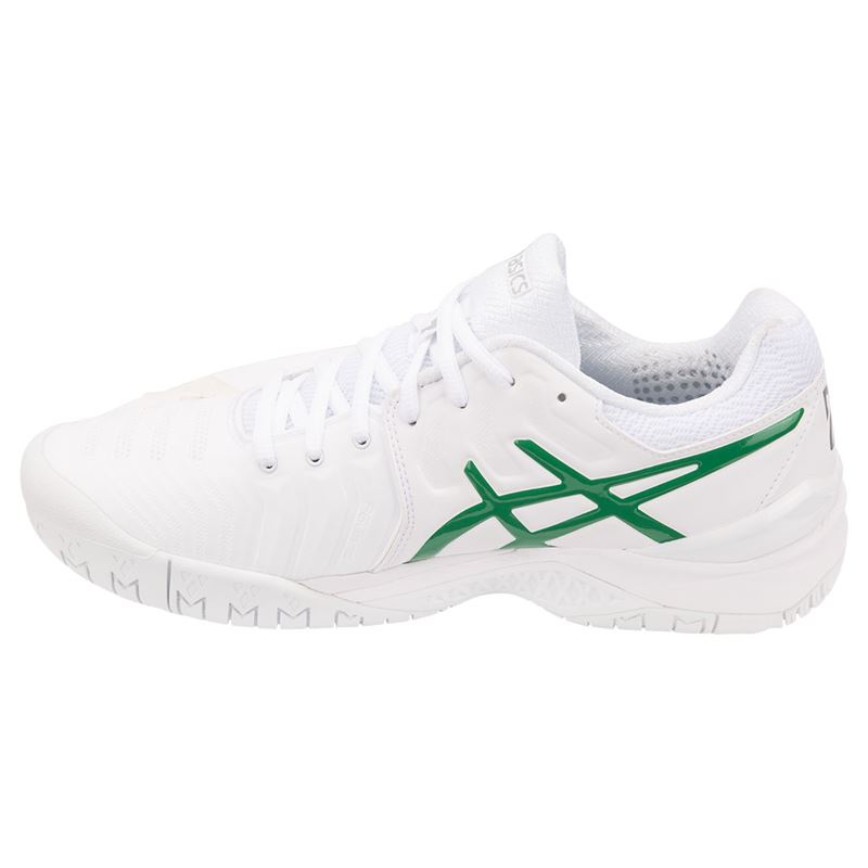 Asics 7 Mens Resolution Novak 100 Gel Shoe Tennis E805n ZrvEqZx