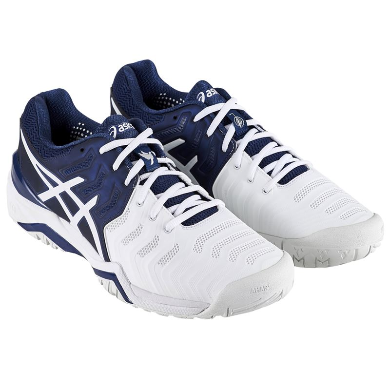 ... Asics Gel Resolution 7 Novak Djokovic Mens Tennis Shoe