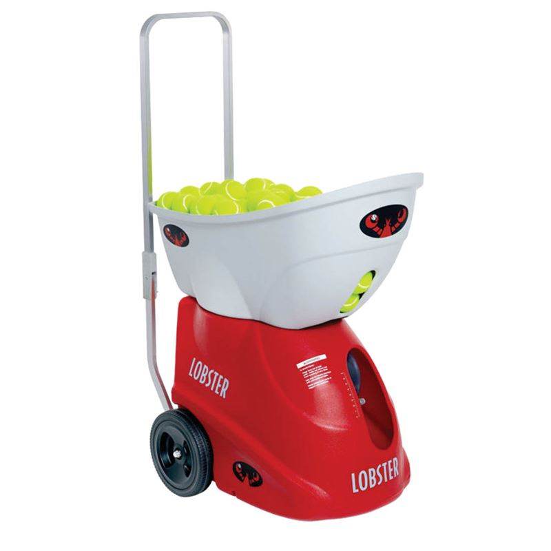 Lobster Elite One Portable Tennis Ball Machine Midwest