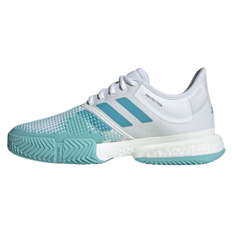 best service ed793 b651e adidas Sole Court Boost Parley Womens Tennis Shoe