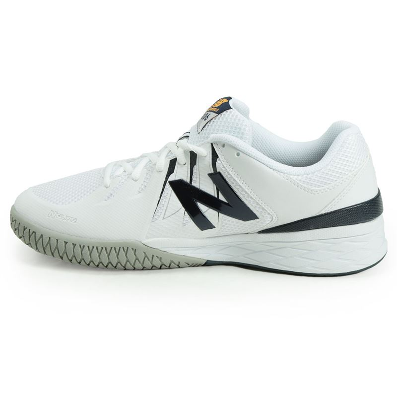 93b0b547c914c New Balance MC1006BW (4E) Mens Tennis Shoe, White/Navy, MC1006BW 4E