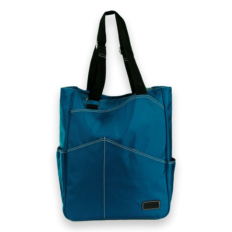 Maggie Mather Tennis Tote Bag Teal