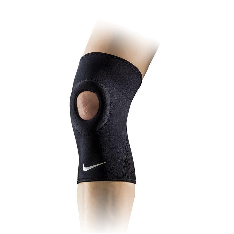 Nike Pro Combat Open Patella Knee Sleeve, Black, NMS38010 ...