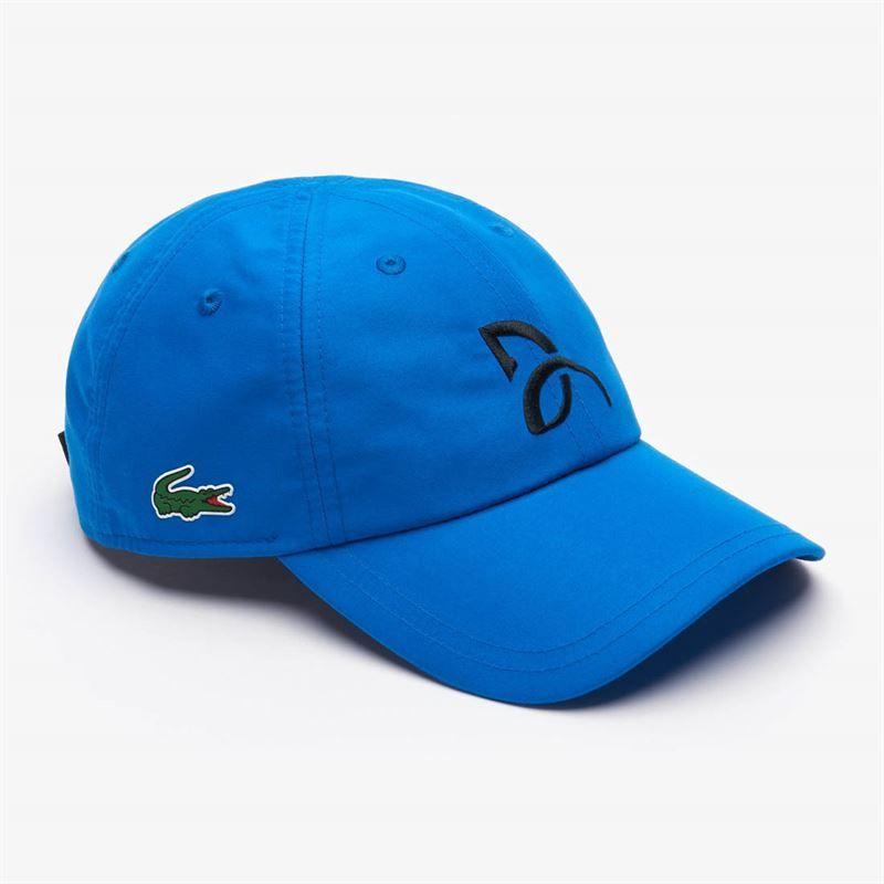 d85c9f0e Lacoste Djokovic Blue Hat | Midwest Sports