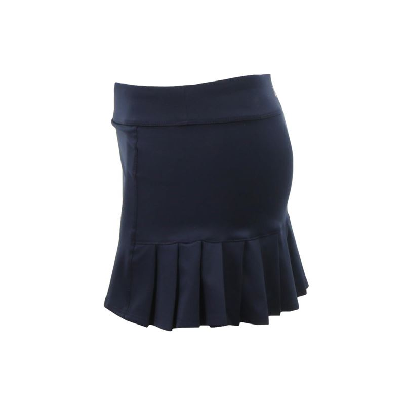 Shop black pleated skirt at Neiman Marcus, where you will find free shipping on the latest in fashion from top designers. Jil Sander Gathered & Pleated Two-Tone Wrap Skirt with Leather Tabs Details Jil Sander two-tone skirt with gathered front & pleated back. Natural rise; leather tabs at side. Wrap silhouette. Ankle-length. Hidden back zip.