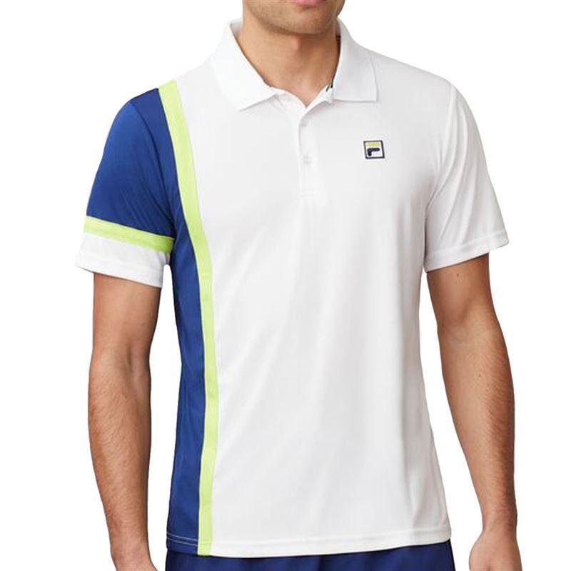Fila Men`s PLR Singles Tennis Polo