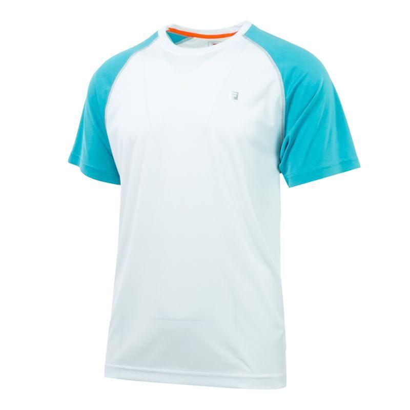 4ddafbf367 Fila Advantage Crew, TM183V64 100   Men's Tennis Apparel