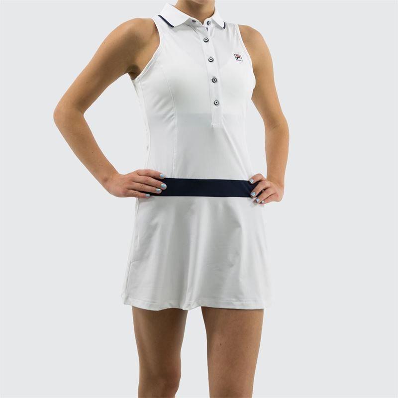 f6414d0310 Fila Heritage Polo Dress