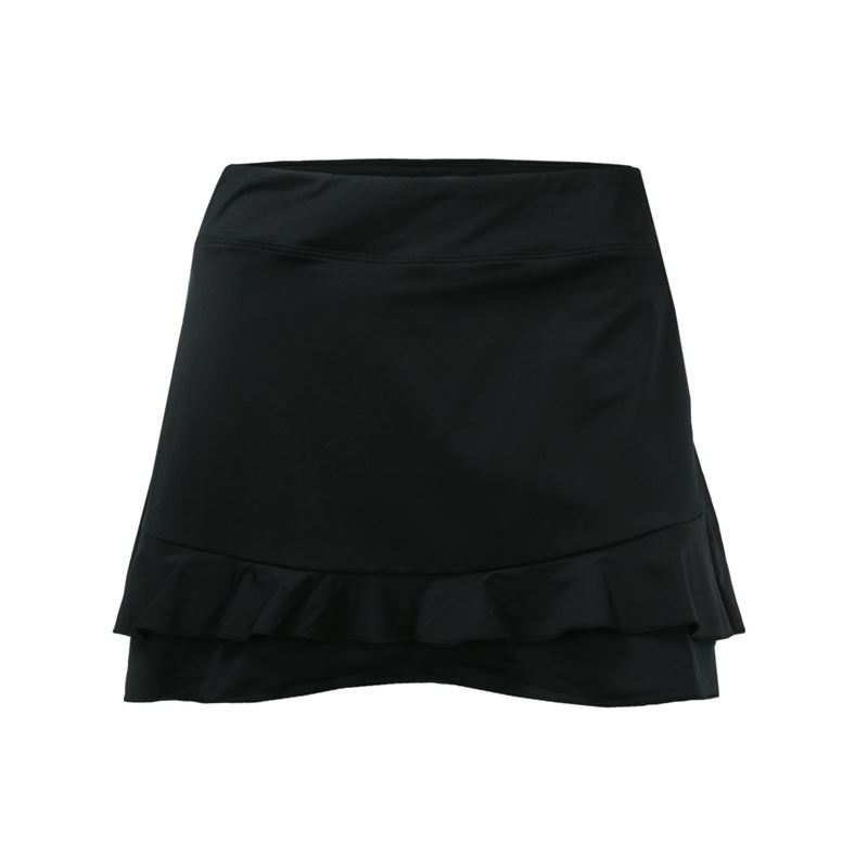 297e1dafffcc2a Fila Double Ruffle Skirt, TW191743 001 | Women's Tennis Apparel
