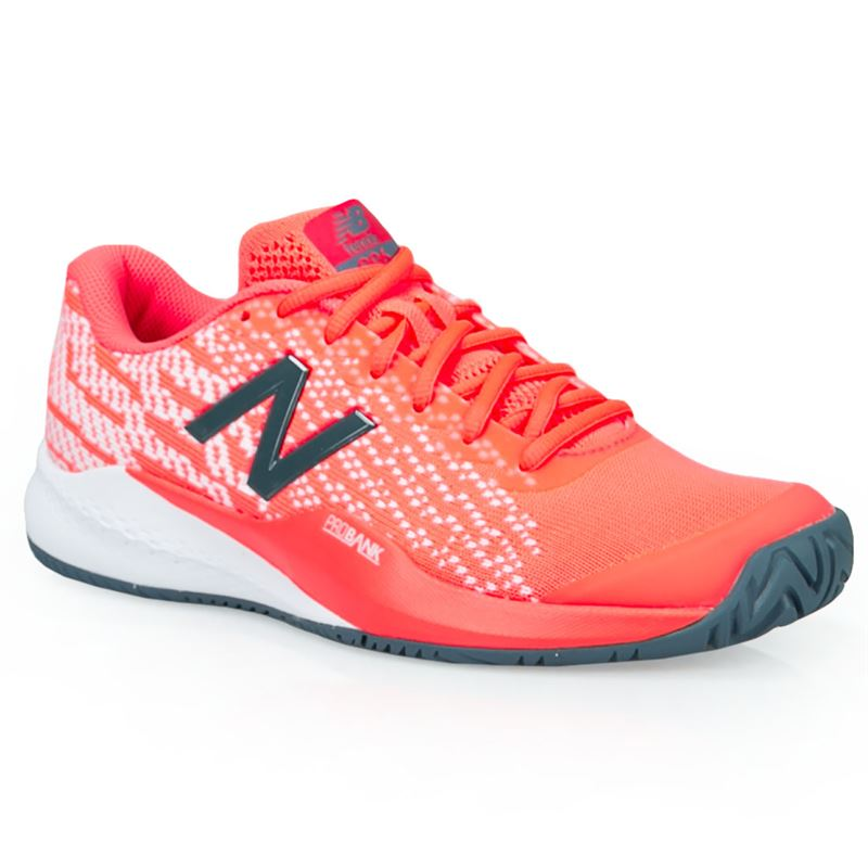 3a9fc6f63a590 New Balance WCH996 (D) Womens Tennis Shoe - Dragonfly Orange. Zoom