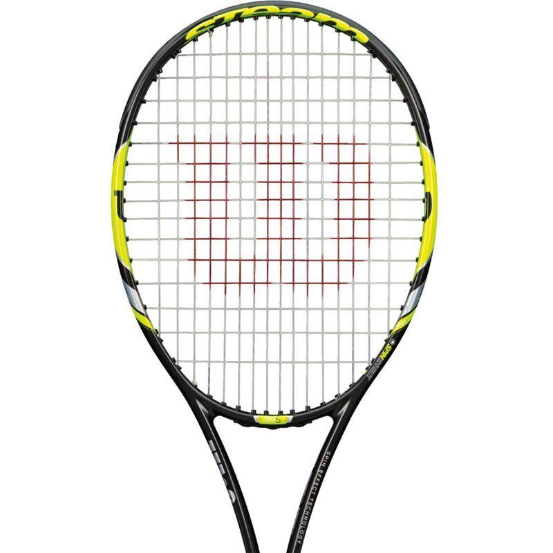 Wilson Steam 99s Yellow Tennis Racquet Wilson Tennis