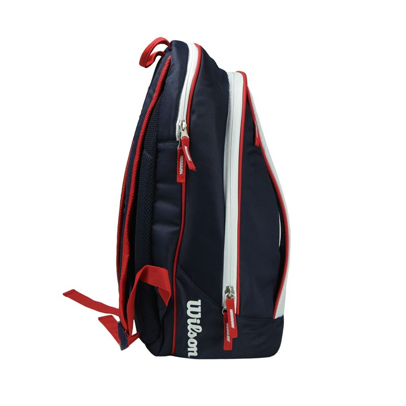 Wilson Us Open Back Pack Navy White Wrz615796 Tennis Bags