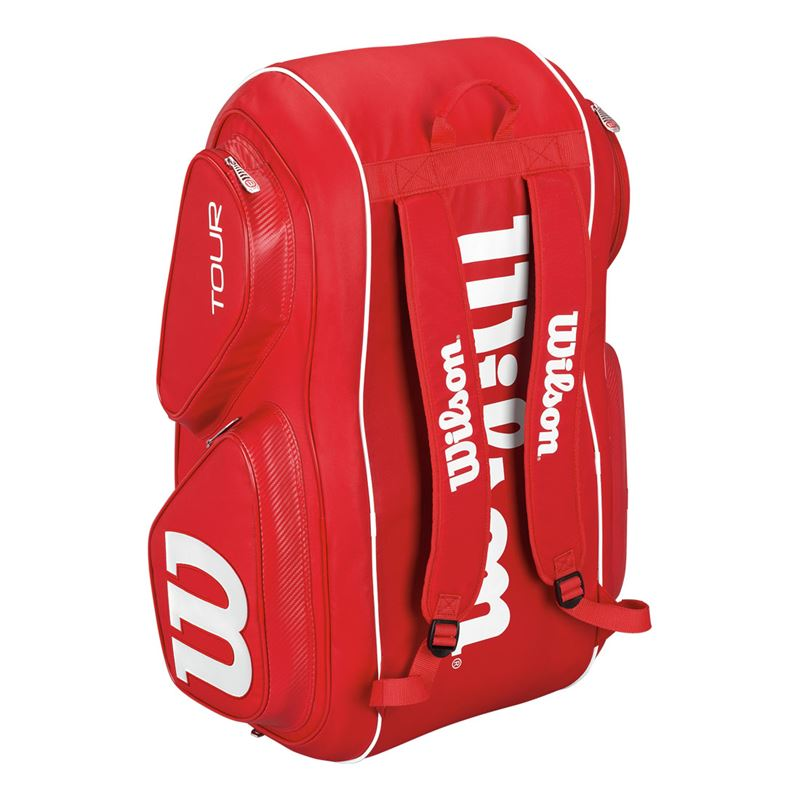 Wilson Tour V Red 15 Pack Tennis Bag