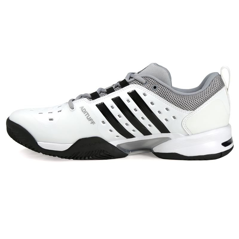 free shipping e2823 4dba6 ... adidas Barricade Classic Bounce WIDE 4E Mens Tennis Shoe ...