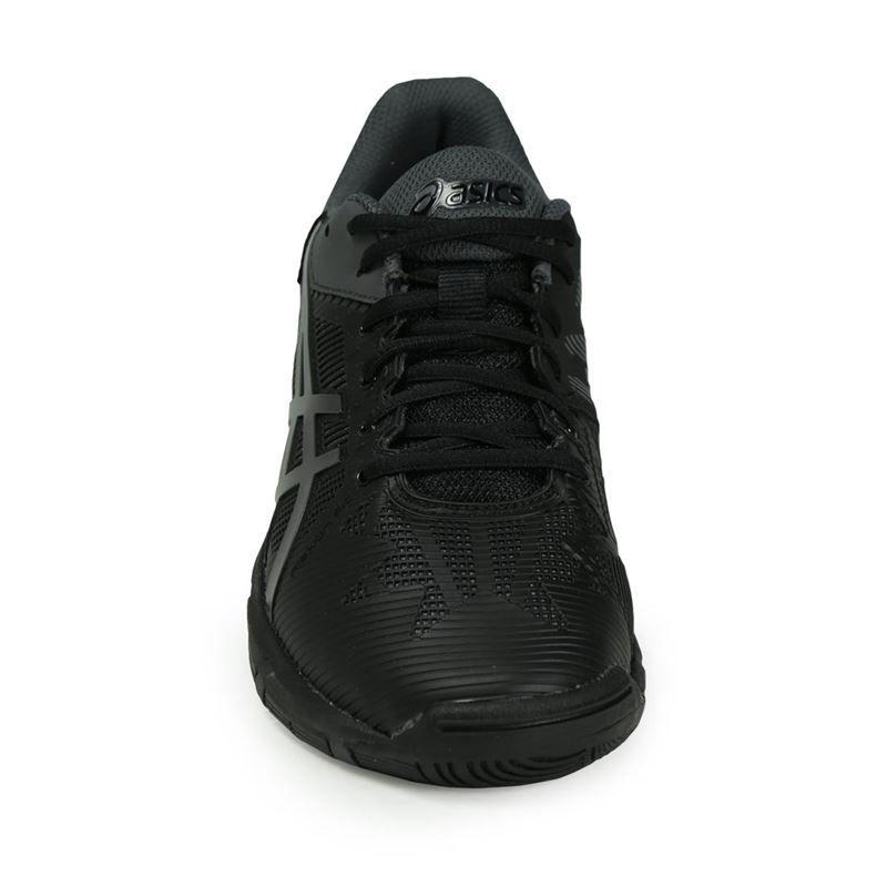 68e989cf Asics Gel Solution Speed 3 Junior Tennis Shoe, Black, C606Y 9095