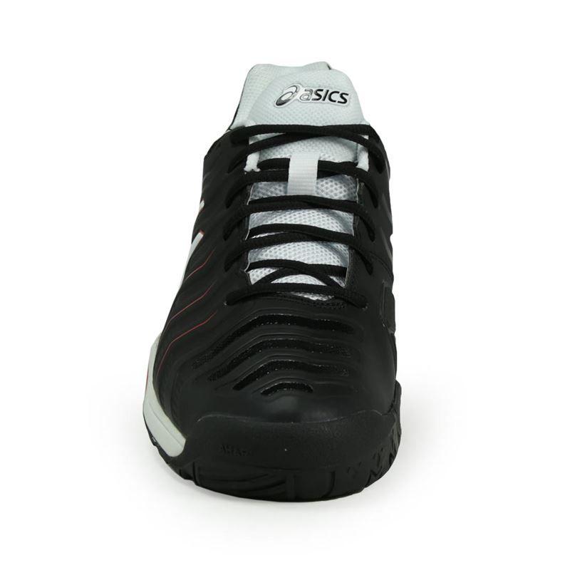 black asics mens shoes