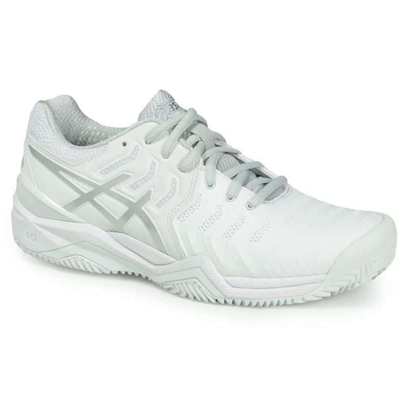 4c4d4c6a Asics Gel Resolution 7 Clay Womens Tennis Shoe