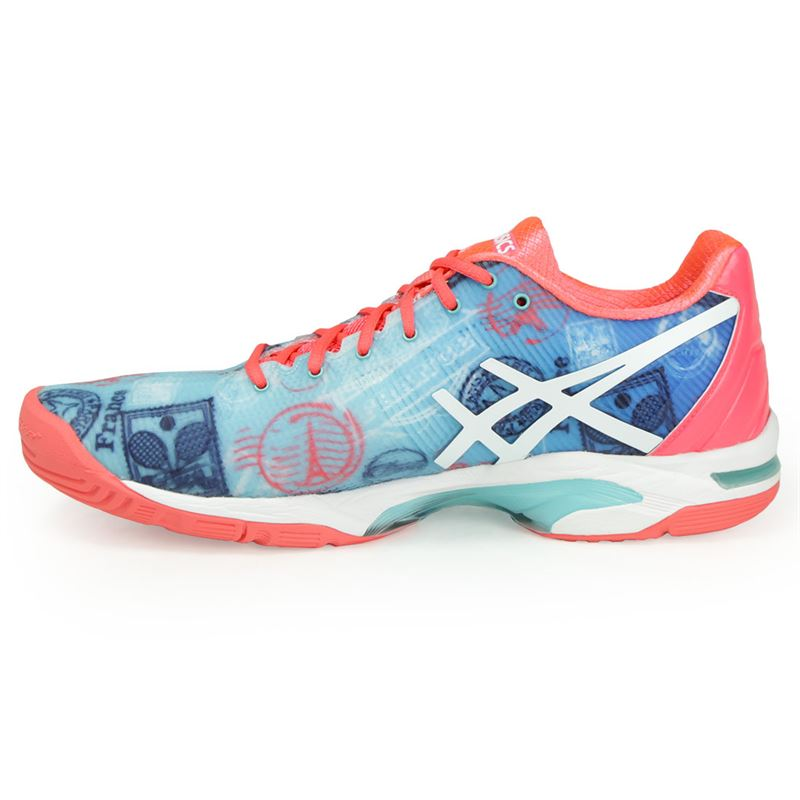1fe5db43b431 ... Asics Gel Solution Speed 3 Limited Edition Paris Womens Tennis Shoe ...